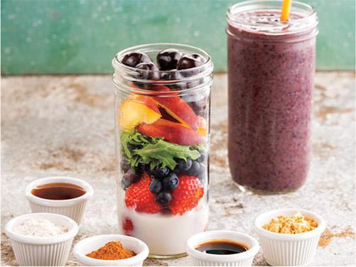 Fruit & Baby Kale Smoothie