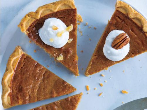 Gingered Pumpkin Pie
