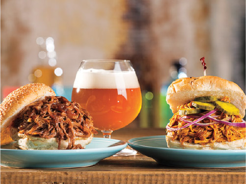 Grilled Pulled Pork with Bourbon Whiskey Barbeque Sauce