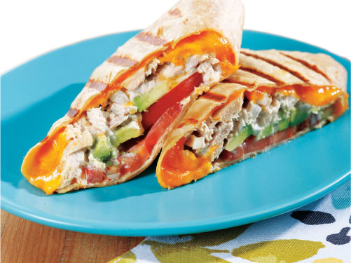 Grilled Tuna Melt Wrap