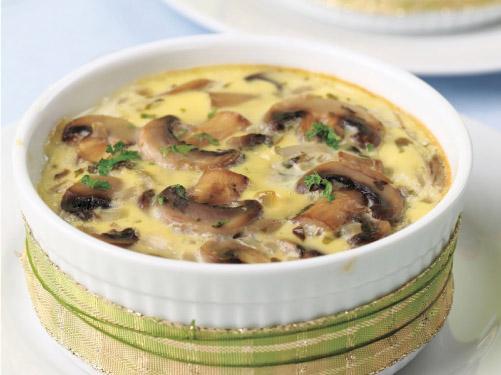 Mushroom & Fennel Egg Bakes