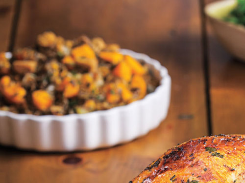 Wild Rice & Butternut Squash Stuffing