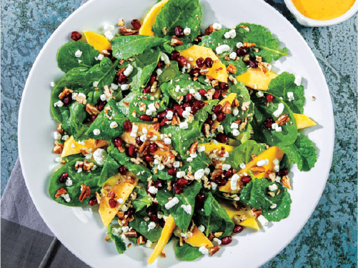 Winter Pomegranate & Mango Salad