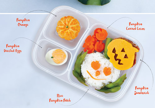 Pumpkin Bento Box