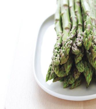 Asparagus, Pea & Parmesan Gratin