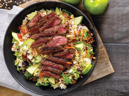 Bacon-Blue Steak & Grain Salad