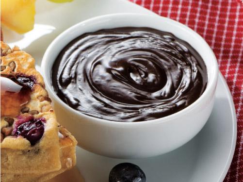 Brandied Chocolate Fondue