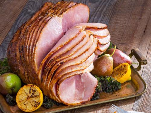 Glazed Sweet Bourbon Ham