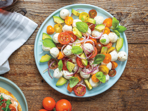 Marinated Tomato & Mozzarella Salad