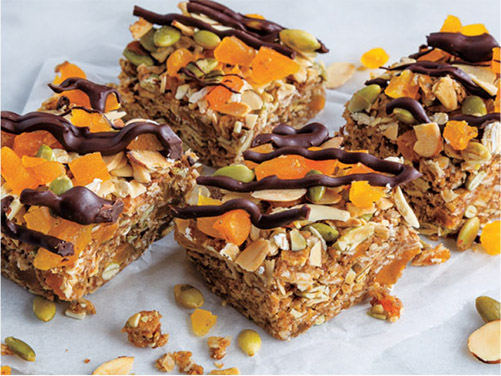 No Bake Oat Bars