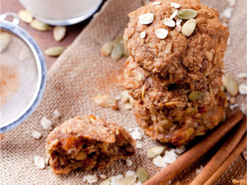 Oat & Nut Butter Breakfast Cookies