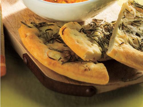 Rosemary-Onion Focaccia