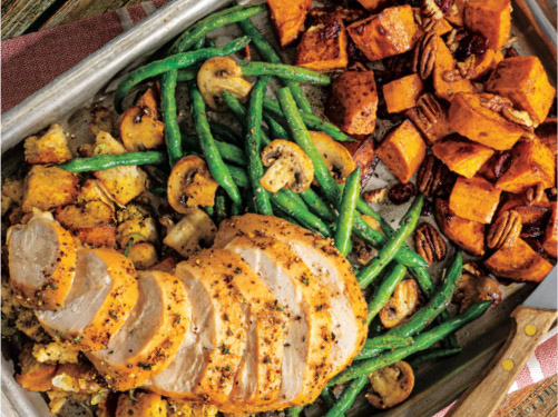 Sheet-Pan Turkey Dinner