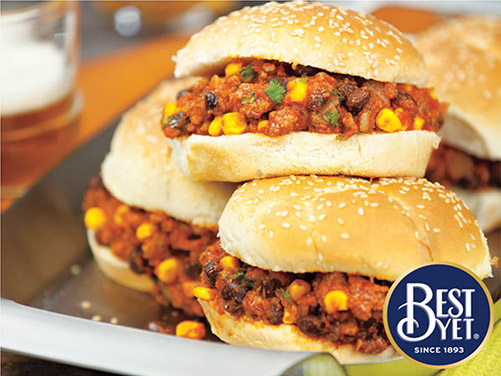 Slow Cooker South of the Border Sloppy Joes