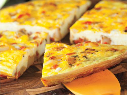 Tortilla española de papas